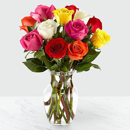 d4d24bc2f78 Mixed Roses - Nashville Florist LLC.com